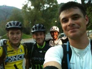 25 oct. 2012 - coucher de soleil au Peygros dans Sortie d'entrainement bloggroupe-300x225
